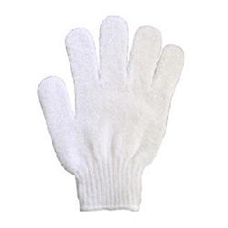 Gant de gommage - Blanc