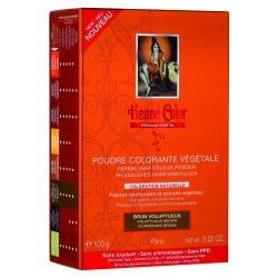 Poudre Colorante Brun Voluptueux Prenium Végétal - 100gr poudre