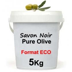 Savon Noir Pure Olive - 5Kg