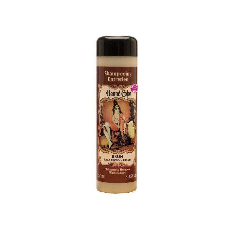 shampoing brun