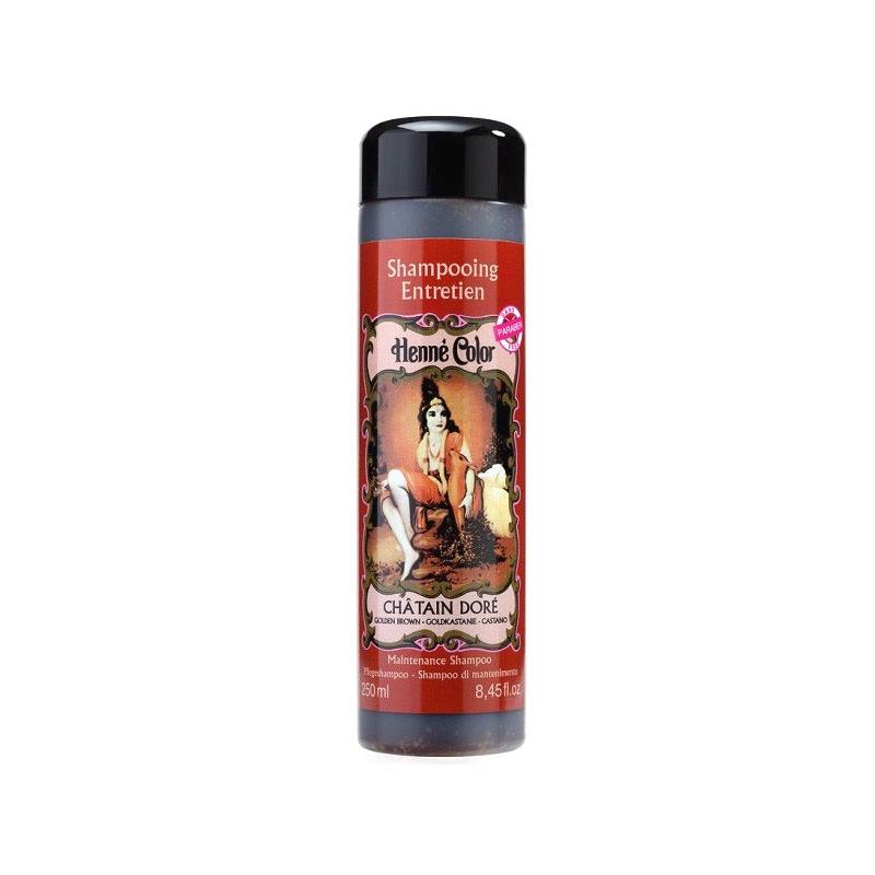 Shampoing Henné Châtain doré - 250ml