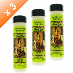 Lot de 3 Shampoings Henné Neutre - 250ml