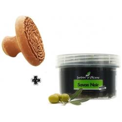 Kit 1 Disque Mhakka + 1 petit pot de Savon Noir