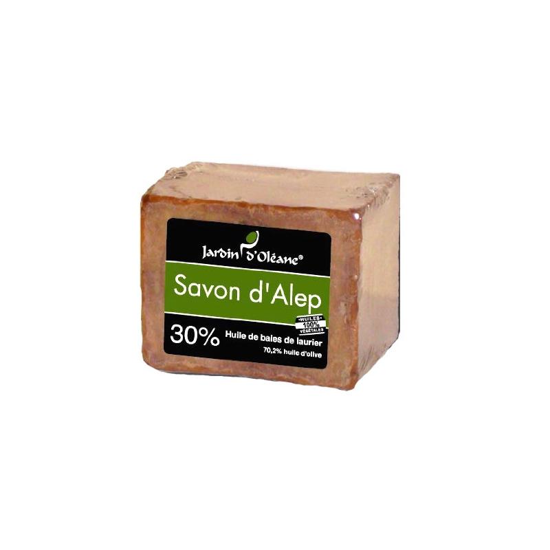 Savon d'Alep 30% baies de laurier - 200gr