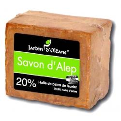 Savon d'Alep 20% baies de laurier - 180gr