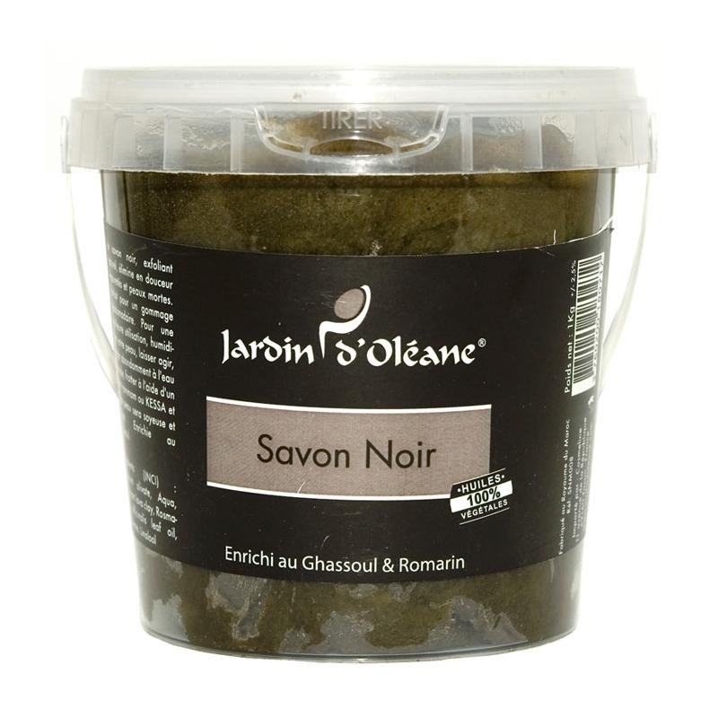 Savon Noir au Ghassoul et Romarin - 1Kg