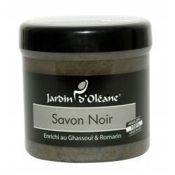 Savon Noir au Ghassoul et Romarin - 250gr
