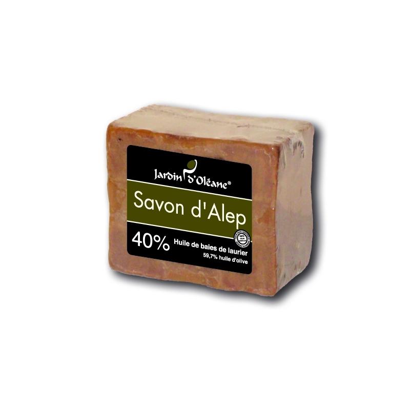 Savon d'Alep 40% baies de laurier - 180gr