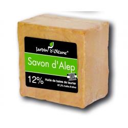 Savon d'Alep 12% baies de laurier - 200gr