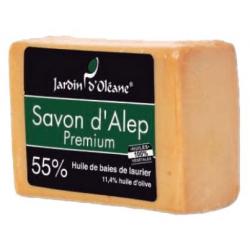 Savon D'alep 55% laurier 7,6% nigelle