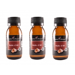 Lot de 3 Huile Pure d'Ail 60 ML