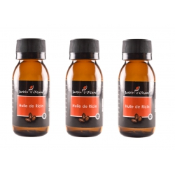 Lot de 3 Huile Pure de Ricin 60 ML