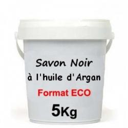 Savon Noir à l'Huile d'Argan 5 KG