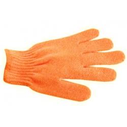 Gant de gommage 5 doigts - Orange