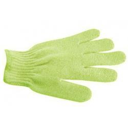Gant de gommage 5 doigts - Vert Clair